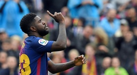 O Barcelona pede 50 milhões por Umtiti. AFP