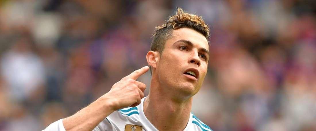 O Real Madrid bateu o Eibar por 1-2. AFP