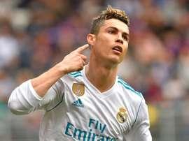 Ronaldo bagged twice against Eibar. AFP