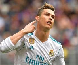 Ronaldo en patron. AFP