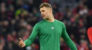 A exigência de Neuer que o Bayern se nega a cumprir. AFP