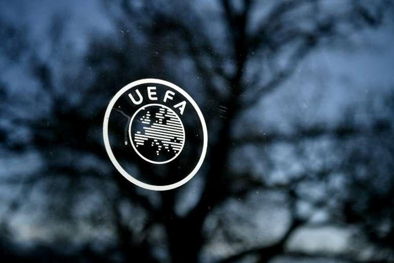Réunions de l'UEFA mardi et jeudi pour un point sur les compétitions. AFP