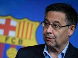 Le Barça coupe les ponts avec une entreprise controversée. AFP