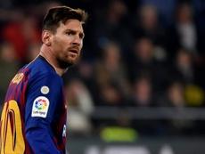 Messi et Suarez sauvent le Barça. AFP
