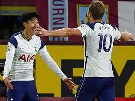 Tottenham soporifique gagne à Burnley. afp