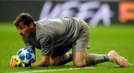 El Oporto cuenta con los paradones de Casillas. AFP