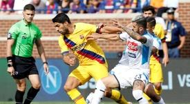 Hysaj podría acabar en el Sevilla. AFP