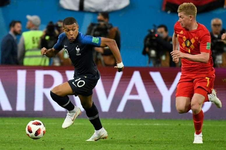 Le Final 4 accouche d'une revanche France-Belgique. afp