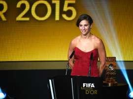 Carli Lloyd, capitana de la selección de Estados Unidos y ganadora del Balón de Oro.