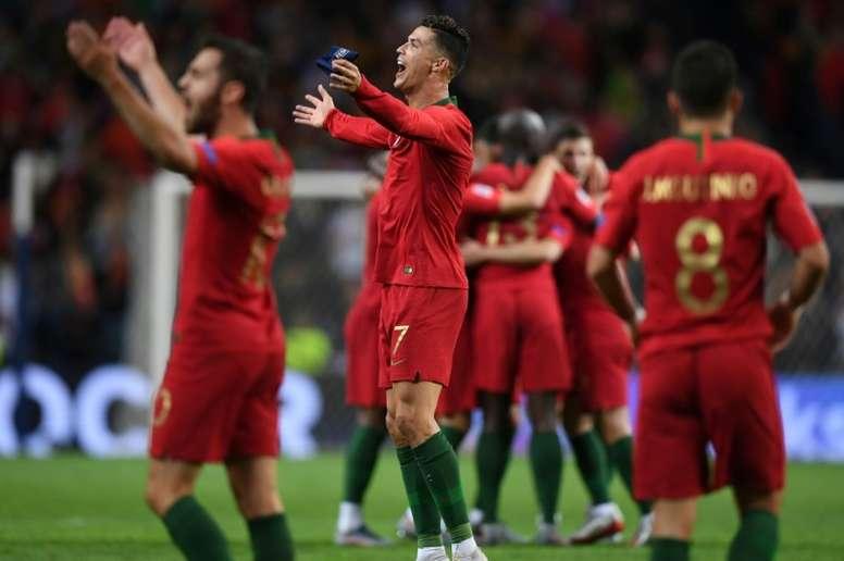 Portugal gana la Liga de las Naciones. AFP