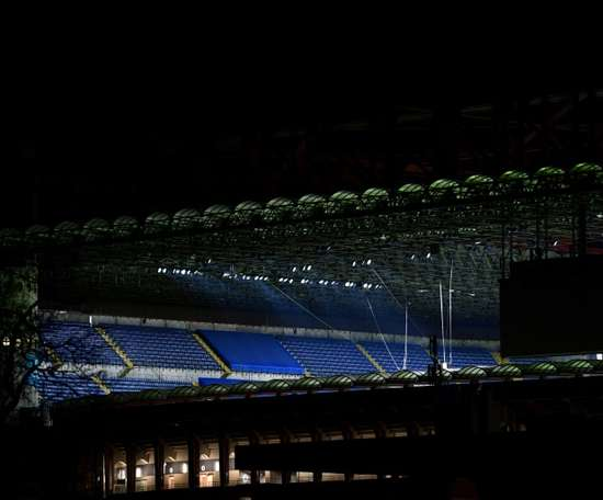 L'Inter avance malgré le huis clos lié au coronavirus. AFP