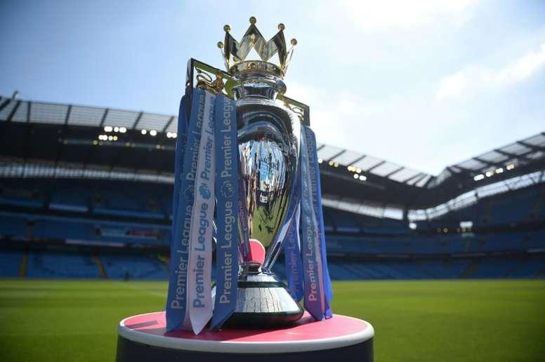 La Premier League annonce 1 cas positif de Covid-19. AFP