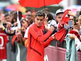 Philippe Coutinho tem rumores envolvendo uma suposta ida ao Napoli. AFP