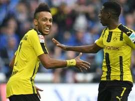 Borussia bateu o Bayern por três bolas a duas, em Munique. AFP