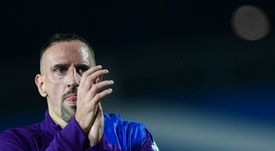 La Fiorentina perd Ribéry et son match contre Lecce. AFP