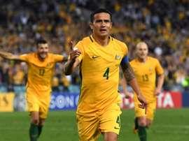 Cahill compromete su estancia en Australia. AFP