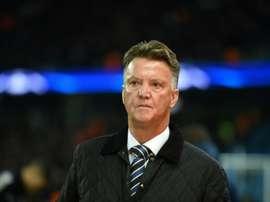 Van Gaal préfère City et Liverpool. AFP