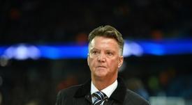 Van Gaal, muy crítico con la visión del Ajax. AFP