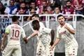 El Mónaco remonta y confirma su mejoría. AFP
