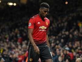 Pogba não jogará no Parque dos Príncipes. AFP