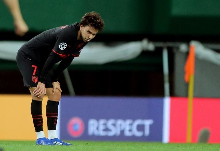 Joao Félix, durante un partido de la Champions