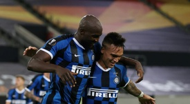 Il y a eu jusqu'à 15 réunions entre le Barça et l'Inter pour Lautaro. AFP