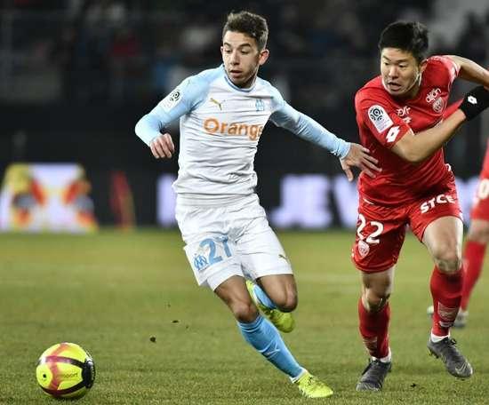 Faute de Maxime Lopez, Séville se tourne vers Lokonga. AFP