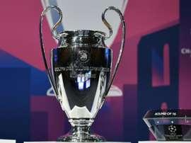 Estos son los cuartos de final de la Champions League 2019-20. AFP