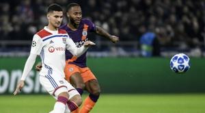 Prováveis escalações de Manchester City e Lyon. AFP