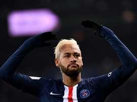 Neymar è tornato da protagonista. AFP