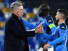 Ancelotti exclut de démissionner. AFP