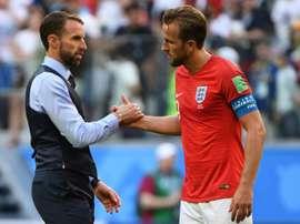 Harry Kane a envoyé les siens vers le 'Final Four'. AFP