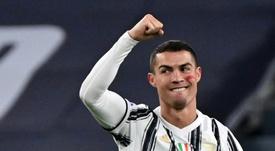 Cristiano Ronaldo recebeu reconhecimento da World Champions Club. AFP