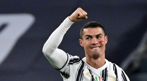 Juventus de Cristiano Ronaldo passou do Real Madrid na lista da Uefa. AFP