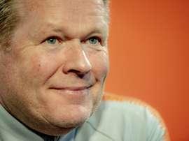 Le sélectionneur des Pays Bas Ronald Koeman. AFP