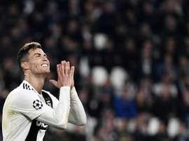Cristiano n'a rien pu faire face à l'Ajax. AFP