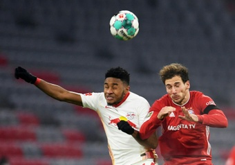 Nkunku, primer jugador del RB Leipzig con un 'hat trick' en Champions