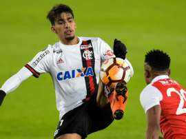 Flamengo Lucas Paqueta Copa Libertadores. AFP