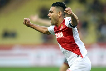 VIDEO : Les buts de Falcao contre Angers. AFP