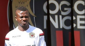 Seri was at Nice before moving to Fulham. AFP
