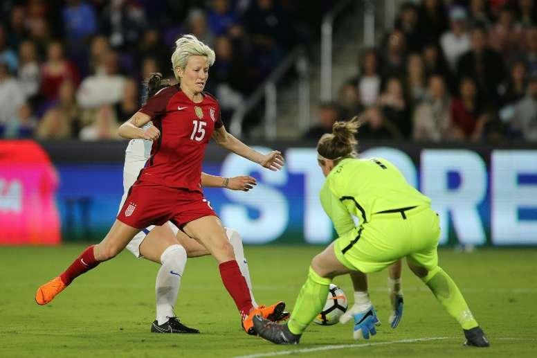 Les USA, l'Espagne, l'Angleterre et le Japon joueront la SheBelieves Cup. AFP