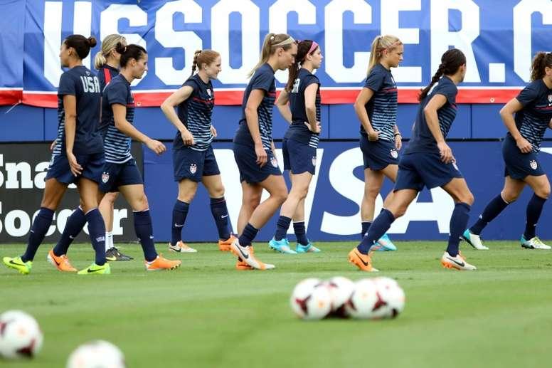 Les inégalités du foot féminin. AFP
