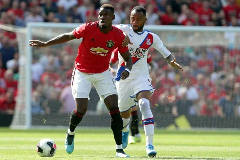 Pogba (L) has been warned he could become the new Coutinho. AFP