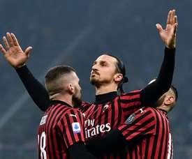Zlatan Ibrahimovic ainda tem futuro incerto. AFP