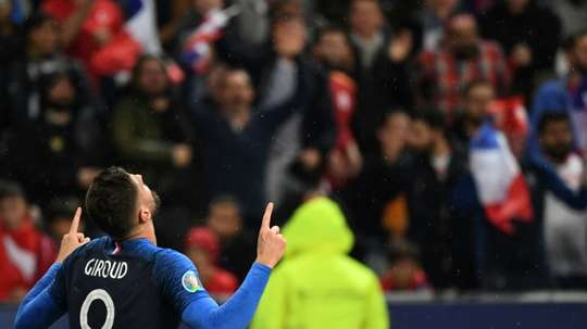 Giroud may move in January in order to get game time. AFP