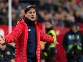 O Leganés bateu o Sevilla por 2-1. AFP