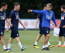 L'Italie reçoit la Pologne. AFP