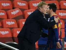 Barcelona anunciou os convocados para o jogo contra o Elche. AFP