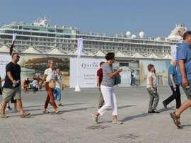 Mondial-2022: des hôtels flottants pour les fans au Qatar. AFP