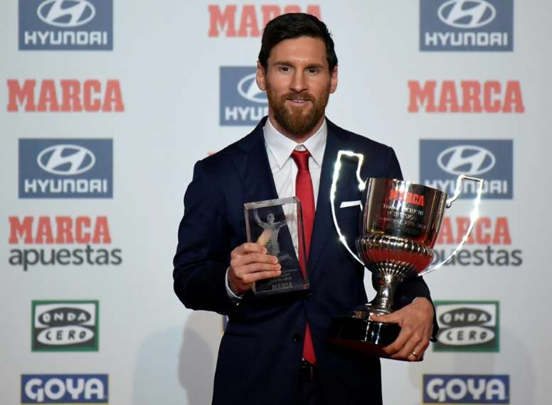 Messi: Clasico win will give Barcelona a happy Christmas. AFP